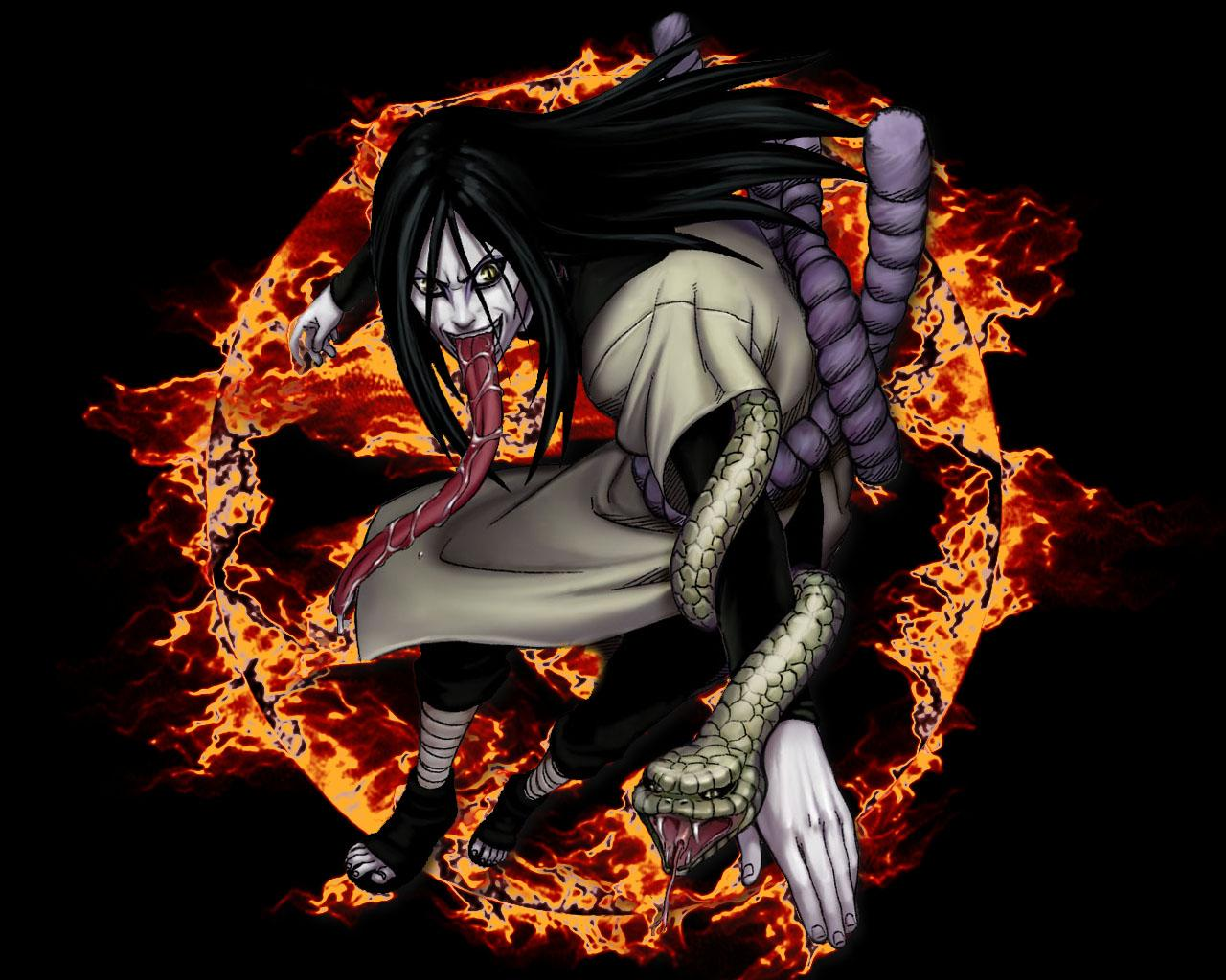 Orochimaru Best Wallpaper