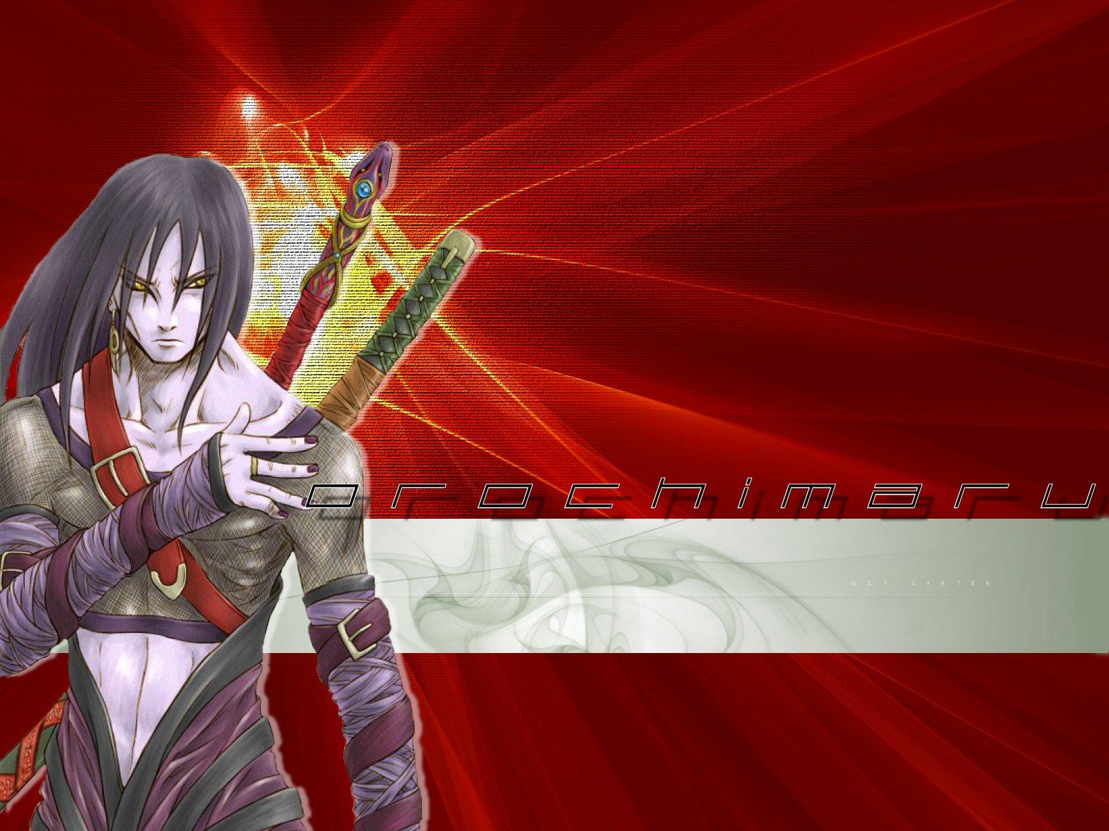 Orochimaru Wallpaper from Naruto Shippuden Free Download